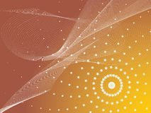 Abstracte ontwerp kleurrijke achtergrond Stock Foto