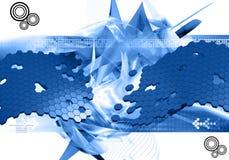 Abstracte ontwerpachtergrond royalty-vrije illustratie