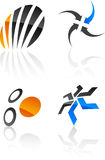 Abstracte ontwerpelementen. vector illustratie