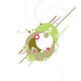 Abstracte ontwerpen Royalty-vrije Stock Afbeelding