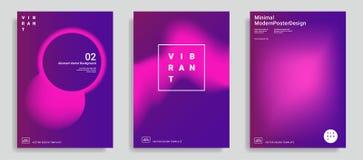 In abstracte ontwerpmalplaatjes vector illustratie