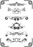 Abstracte ontwerpornamenten Royalty-vrije Stock Fotografie