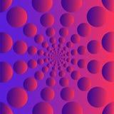 In abstracte ontwerpsjabloonachtergrond met trillende gradiëntvormen Voor dekking, brochures, vliegers, presentaties stock illustratie