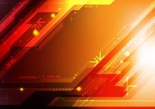 Abstracte ontwerptechnologie Stock Foto's