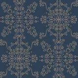 Abstracte oosterse patroonkrabbel zentangle royalty-vrije illustratie