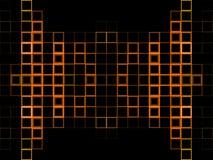Abstracte oranje achtergrond Royalty-vrije Stock Afbeeldingen
