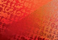 Abstracte oranje achtergrond. Stock Fotografie