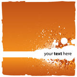 Abstracte Oranje Achtergrond Stock Foto