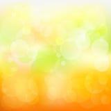 Abstracte Oranje en Gele Achtergrond Stock Afbeelding