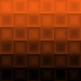 Abstracte oranje en zwarte achtergrond Royalty-vrije Stock Foto's