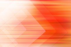 Abstracte oranje technologie-achtergrond Stock Foto