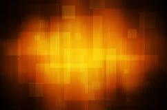 Abstracte Oranje technologieachtergrond Stock Afbeelding