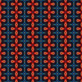 Abstracte oranje textuur of achtergrond met gedetailleerd patroon gemaakt naadloos Stock Afbeelding