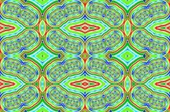 Abstracte ornamentachtergrond. Royalty-vrije Stock Fotografie