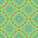 Abstracte ornamentachtergrond. Royalty-vrije Stock Afbeelding