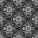 Abstracte ornamenttegels Stock Illustratie