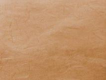 Abstracte Oude Bruine Kringloopmoerbeiboomdocument Textuurachtergrond Stock Afbeelding