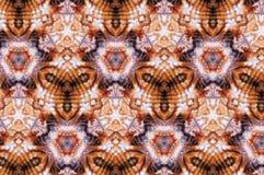 Abstracte overzeese van het fotopatroon shell royalty-vrije stock foto
