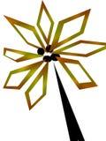 Abstracte palm Royalty-vrije Stock Foto's