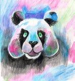 Abstracte panda Stock Afbeelding