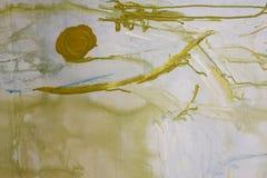 Abstracte Pastelkleur op Canvas vector illustratie