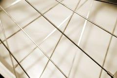 Abstracte patronen van spokes stock afbeeldingen