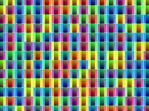 Abstracte patroon decoratieve kleurrijke achtergrond Stock Foto