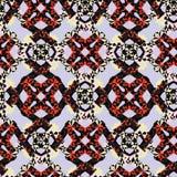 Abstracte patroon purpere rode fantasie Stock Foto