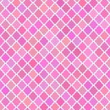Abstracte patroonachtergrond in roze kleuren Stock Afbeelding