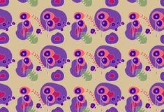Abstracte patroonbloem Royalty-vrije Stock Afbeelding