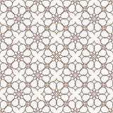 Abstracte patroonillustratie in Arabische stijl Vector Illustratie