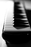 Abstracte Piano in B&W Stock Afbeelding