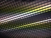Abstracte plafond lichte achtergrond Royalty-vrije Stock Fotografie