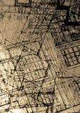 Abstracte plannen Royalty-vrije Stock Afbeeldingen