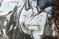 Abstracte plastic filmachtergrond Royalty-vrije Stock Afbeeldingen