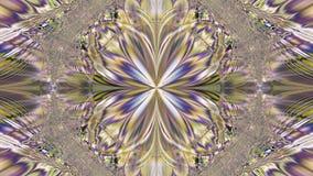 Abstracte plastic kleurrijke ster/bloemachtergrond met een het uitwisselen golvend decoratief patroon van stralen en stralen stock illustratie