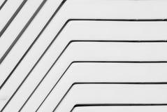 Abstracte plastic lijnen stock foto