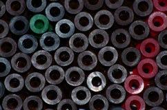 Abstracte plastic textuur Royalty-vrije Stock Afbeelding