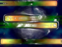 Abstracte plastic vorm Royalty-vrije Stock Fotografie