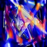 Abstracte Plastic vouwen royalty-vrije illustratie