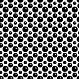 Abstracte Polka Dot Seamless Pattern Royalty-vrije Stock Foto's