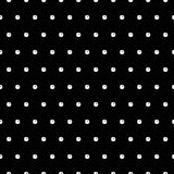 Abstracte Polka Dot Seamless Pattern Stock Afbeeldingen