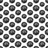 Abstracte Polka Dot Seamless Pattern Royalty-vrije Stock Foto