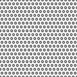 Abstracte Polka Dot Seamless Pattern Royalty-vrije Stock Foto's
