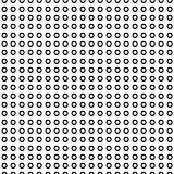 Abstracte Polka Dot Seamless Pattern Stock Foto's