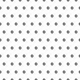 Abstracte Polka Dot Seamless Pattern Stock Afbeeldingen
