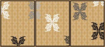 Abstracte prentbriefkaar Stock Foto's