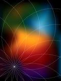 Abstracte presentatieachtergrond Stock Foto
