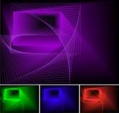 Abstracte psychedelische achtergrond, Stock Fotografie