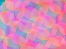 Abstracte psychedelische lichten als achtergrond Stock Foto's